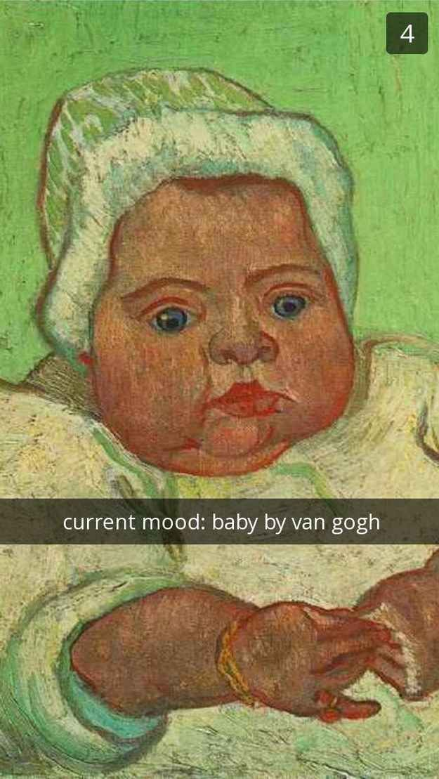 Photo of 25 Art History Snapchats That Will Make You Giggle