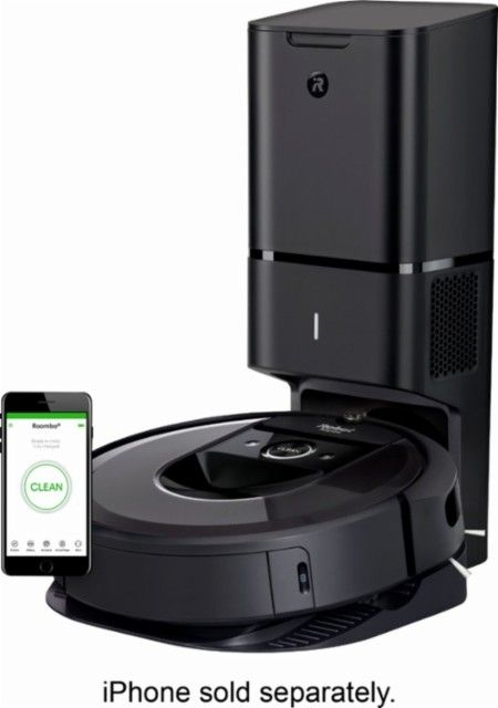iRobot Roomba® i7+ WiFi Connected Robot Vacuum with