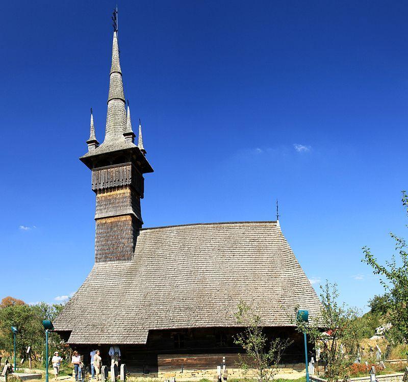 Church of the Holy Archangels, Rogoz, Romania