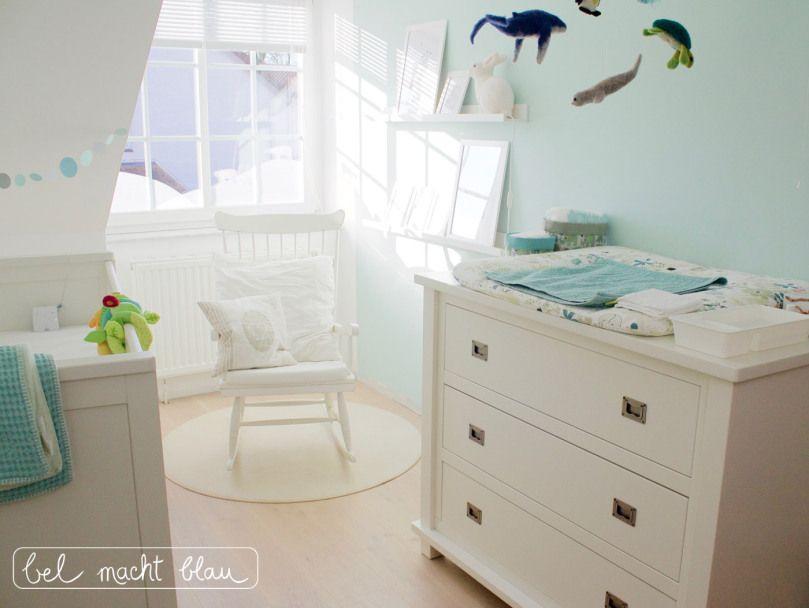 Einblicke ins babyzimmer babyzimmer baby baby kinderzimmer und kinderzimmer - Schaukelstuhl kinderzimmer ...