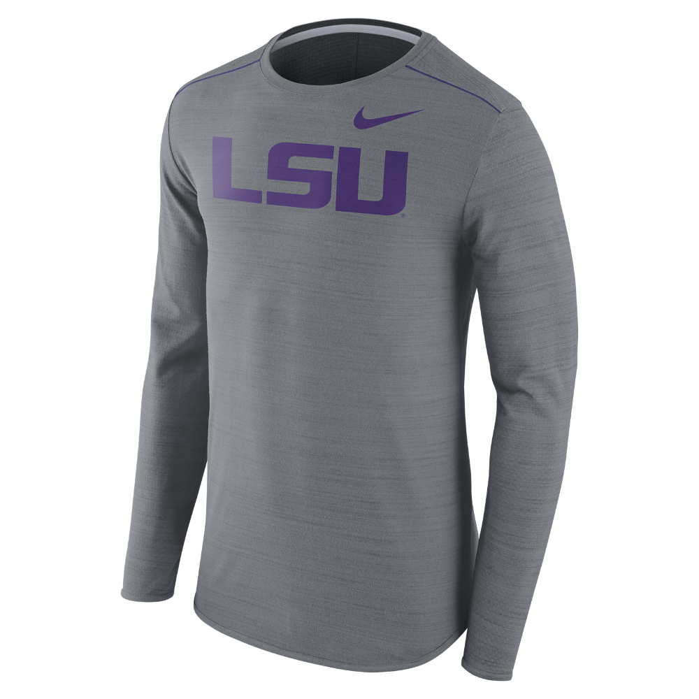 Nike College Player (LSU) Men s Long Sleeve Top Size 2XL - Clearance Sale 19459ae1c0b