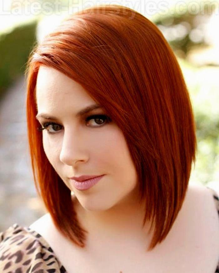 Modern hairstyles ladies mid-length image | Coiffure couleur, Idées de coiffures