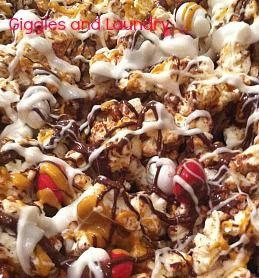Gluten free and delicious...A make it yourself popcorn treat that can be customized to your liking