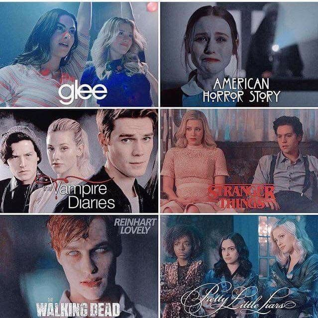 Riverdale as other shows #seriesonnetflix