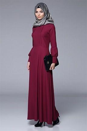 Tesettur Elbise Tozlu Com Elbise Elbiseler Kiyafet