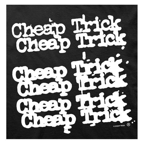 Cheap Trick 6X Logo T-Shirt Black | Riley's Pins | Pinterest ...