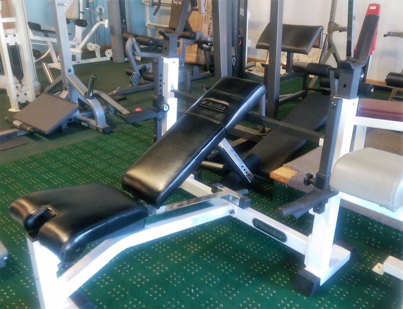 Weight Bench Olympic Adjustable By Nautilus Ebay Weight Benches Olympics Nautilus