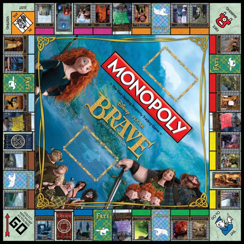 Brave Collector's Edition Monopoly Wiki Disney games