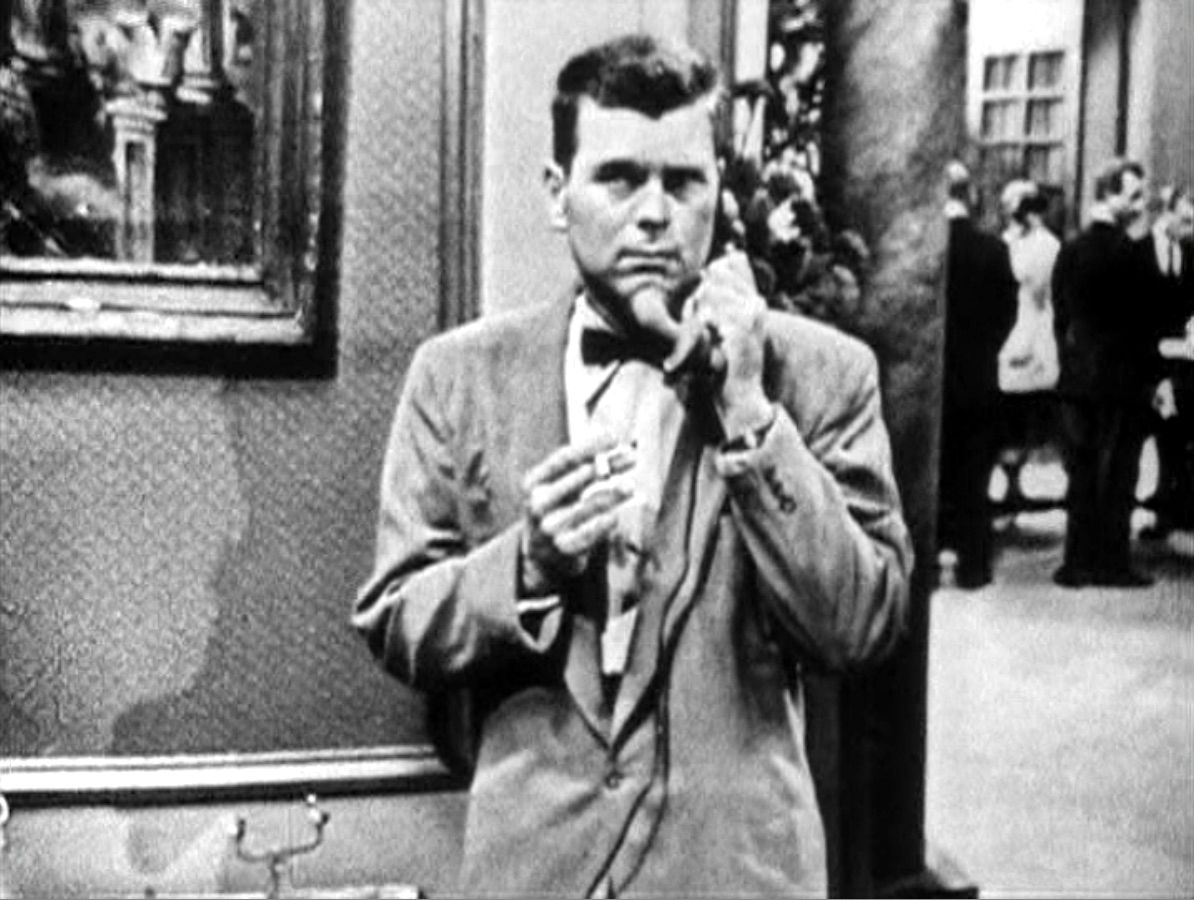 Barry Nelson as James Bond in CBS'