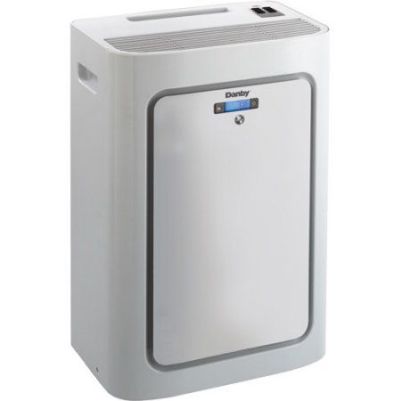 Danby Dpac8kdb 8 000 Btu Room Portable Air Conditioner With Dehumidifier And Remote Control Gray Portable Air Conditioner Danby Air Conditioner