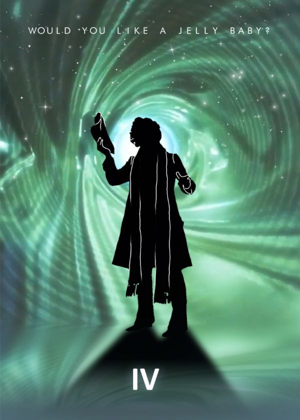Doctor Who Without TARDIS Doctor Displate Posters