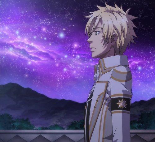 Apolo y un cielo de estrellas
