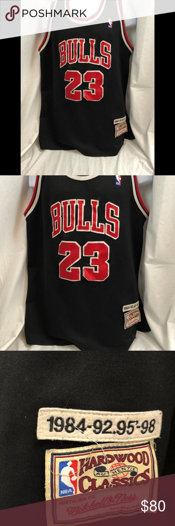 best service c6b36 5fbd9 VTG Mitchell & Ness Chicago Bulls Michael Jordan VTG ...
