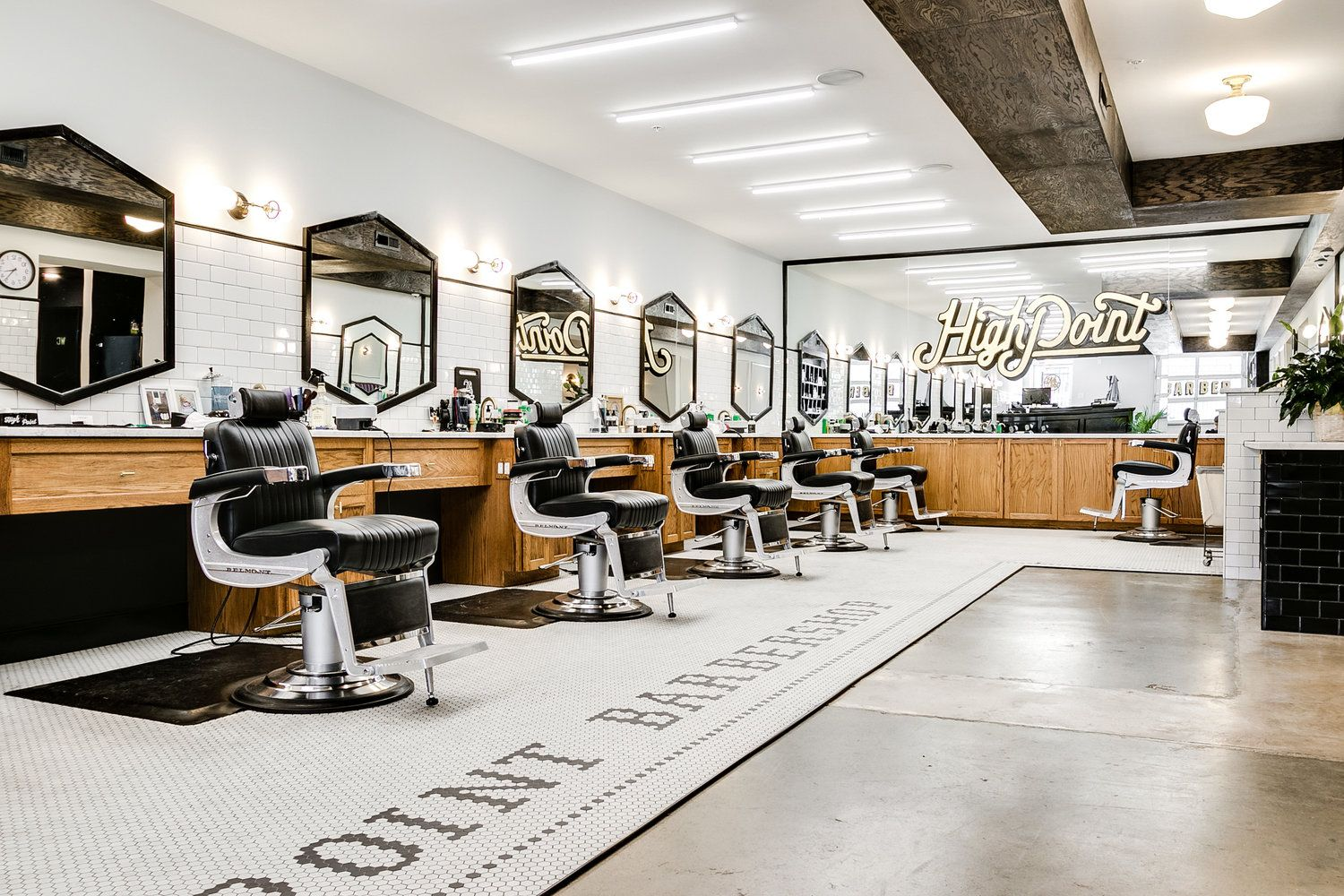 High Point Barbershop - Case Study - Branding, Web Design, Interior Design in Richmond Virginia — Campfire & Co.