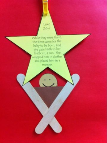 Christian Christmas Crafts.Pin On Religion Ed