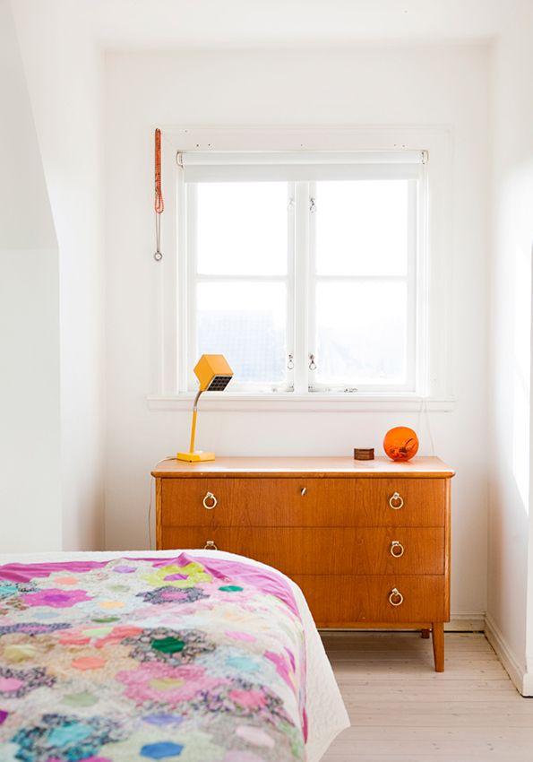 apetyczne wnętrze: soczyste mieszkanie z akcentem lat 60-tych