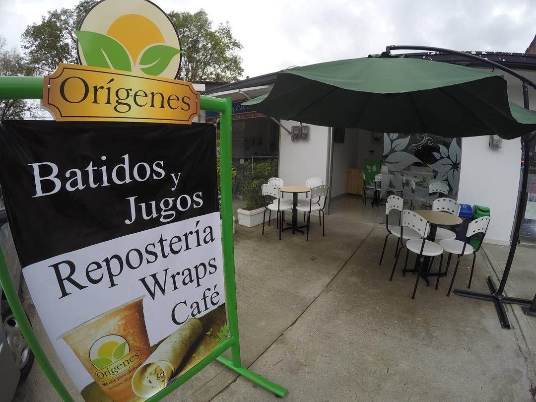 #OrígenesPopayán batidos de frutas - wraps - reposteria.  Kra 7 # 17N - 34 al lado de la pizzarra el recuerdo  Domicilios 8200929
