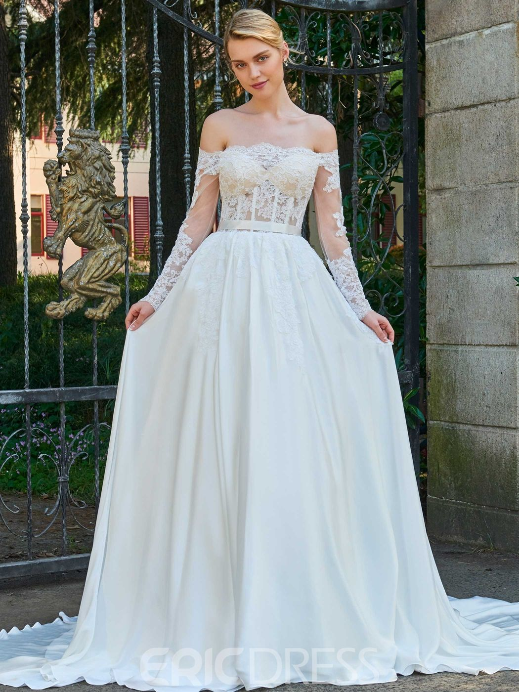 Funky Wedding Gown Material Component - All Wedding Dresses ...