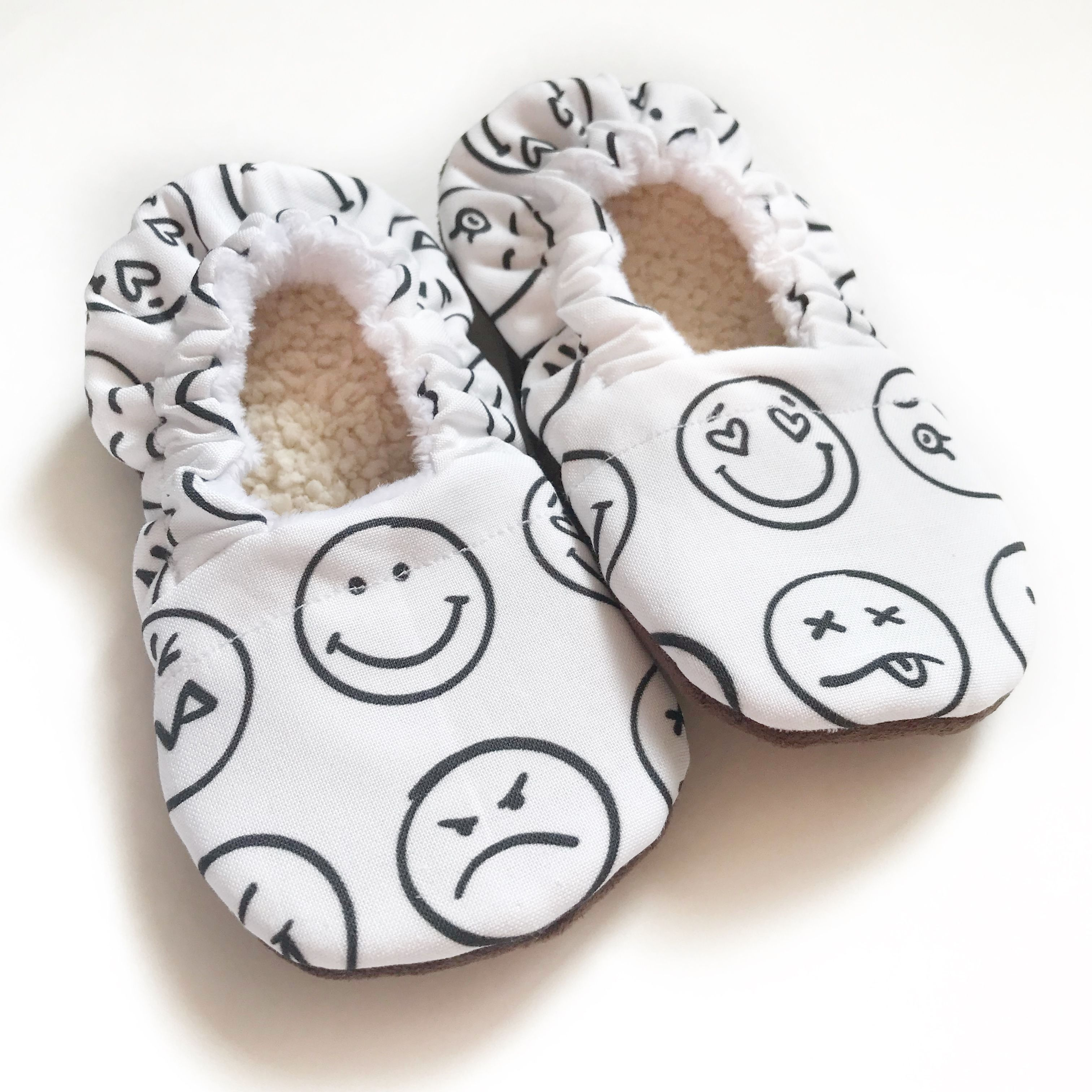 23b436d56ec69 Emoji shoes, toddler shoes, slippers, Christmas gift, baby shower ...