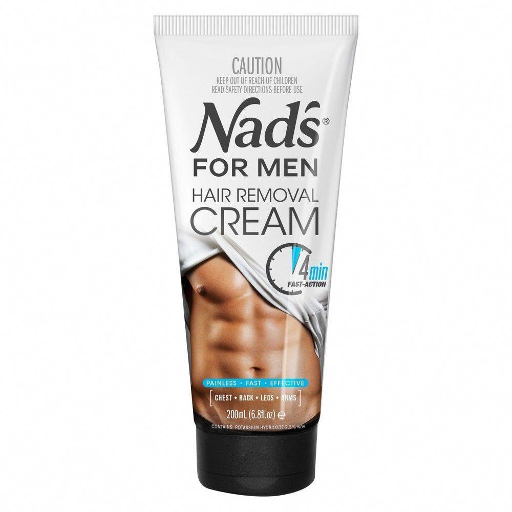 Nad's Men's Hair Removal Cream 6.8 fl oz HairRemoval in