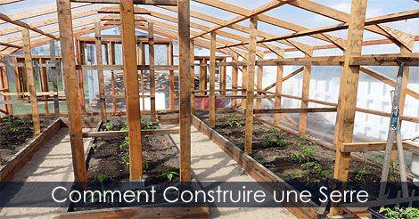 comment construire une serre plan et tapes de construction d 39 une serre voir http www. Black Bedroom Furniture Sets. Home Design Ideas