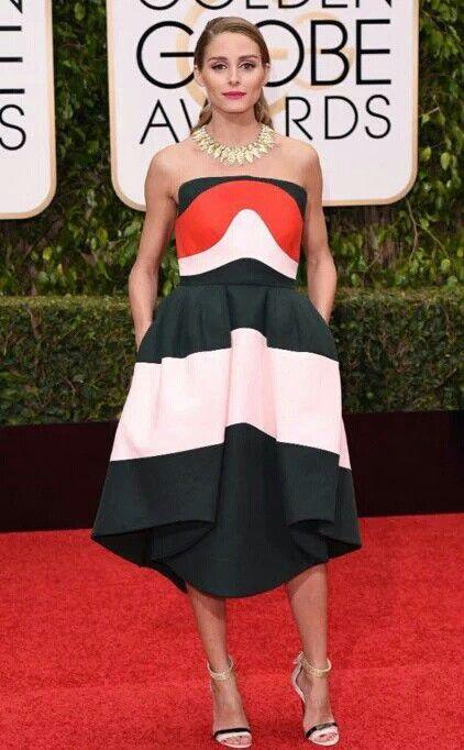 Olivia Palermo on Golden Globes Awards 2016