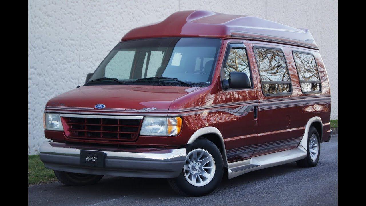 1996 Ford E150 Custom vans, Vans