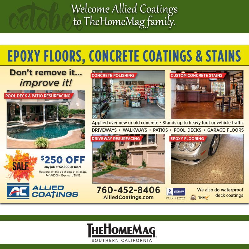 Join us in Allied Coatings to TheHomeMag SoCal