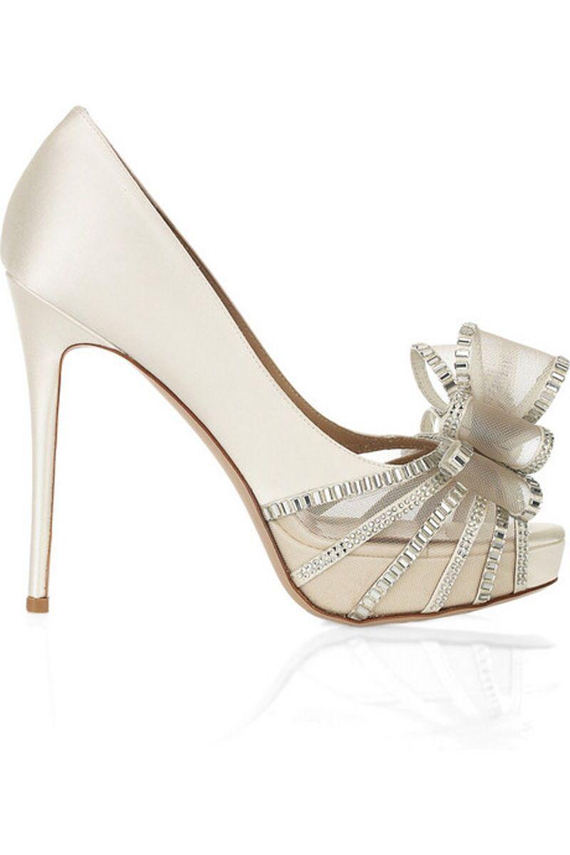 shoes, Bridal shoes, Valentino heels