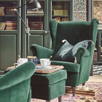 Strandmon Wing Chair Review Danish Modern Lounge The Unmistakable Shape Of A Complete With Chosen Here To Represent Ikea Sofas And Armchairs That Are As Elegant They Comfortable