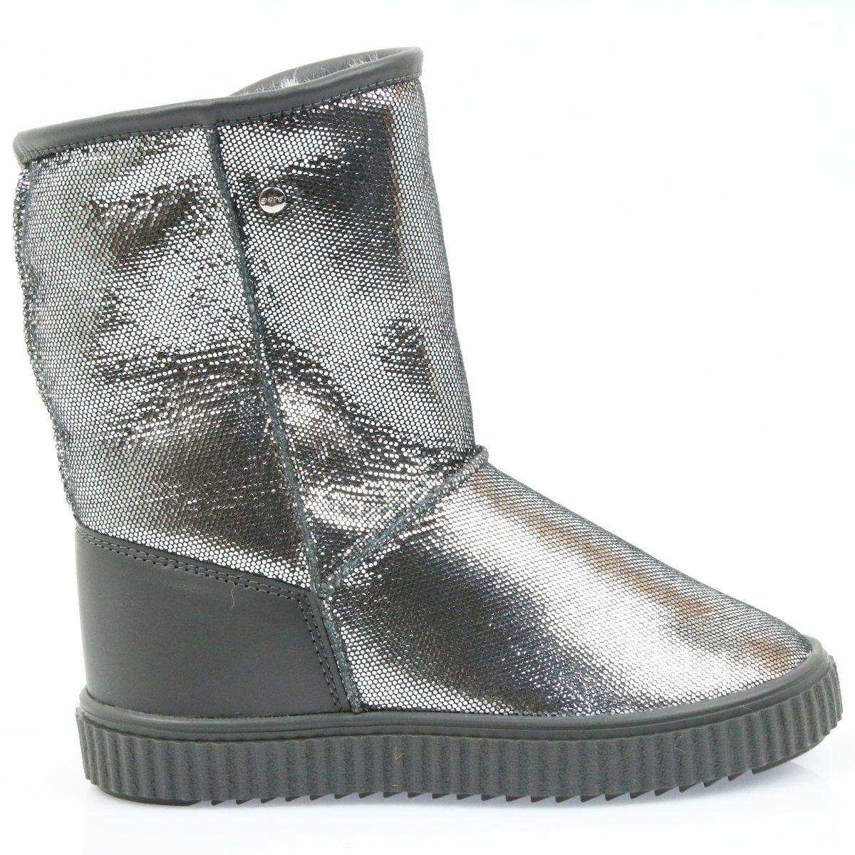 Kozaki Dla Dzieci Bartek Szare Kozaki Bartek 47750 Naturalna Welna Boots Ugg Boots Uggs