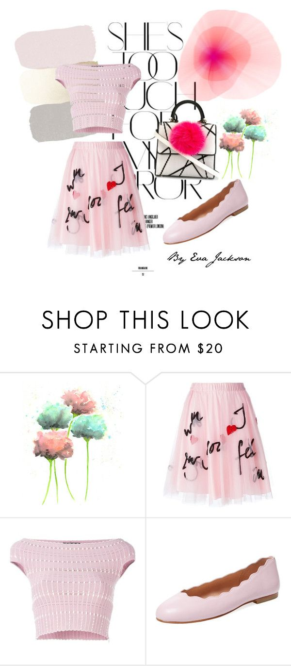"""""""paris"""" by evajackson2002 ❤ liked on Polyvore featuring Rika, P.A.R.O.S.H., Alexander McQueen, French Sole FS/NY and Les Petits Joueurs"""