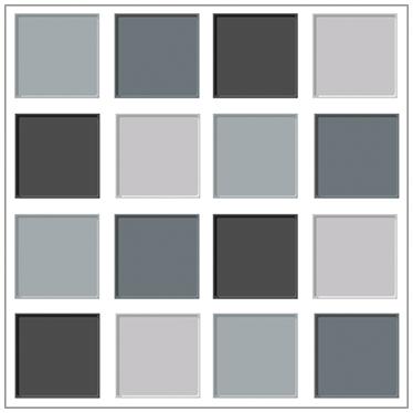 Vinilo azulejos tonos grises ba os salas y algo mas for Banos en tonos grises