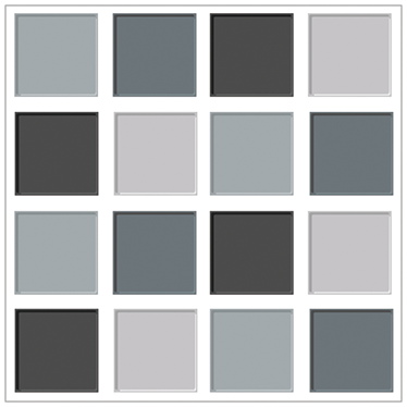 Vinilo azulejos tonos grises ba os salas y algo mas for Paleta de colores grises