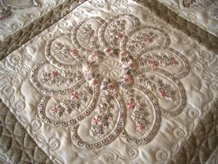 Piccadilly Paisley Paisley Quilt Embroidered Quilts