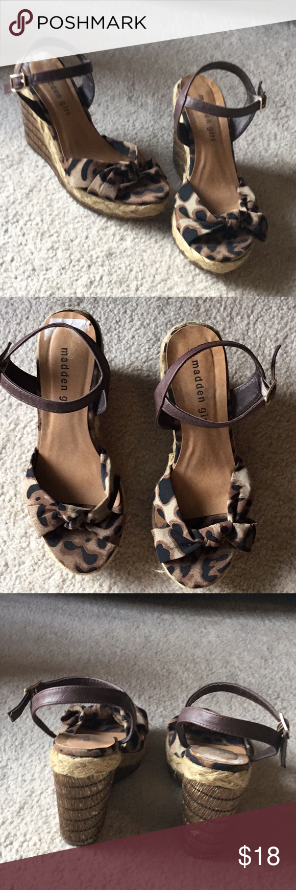 a68e8aced486 Madden Girl platform heels size 7 These are platform heeled shoes by madden  girl. They