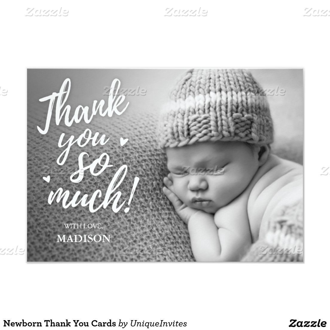 Newborn Thank You Cards Baby Shower InvitationsBirth - Card template free: birth announcement thank you cards