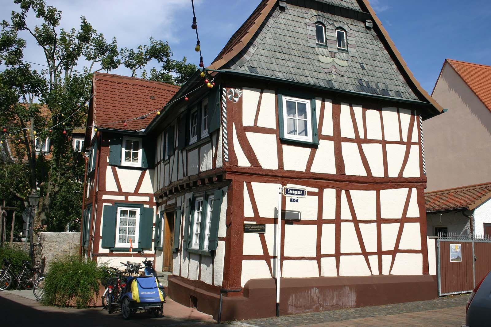 Ältestes Fachwerkhaus In Bad Homburg