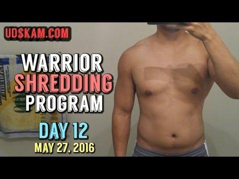 Warrior Shredding Program by Kinobody Day 12   Warrior Shredding ...