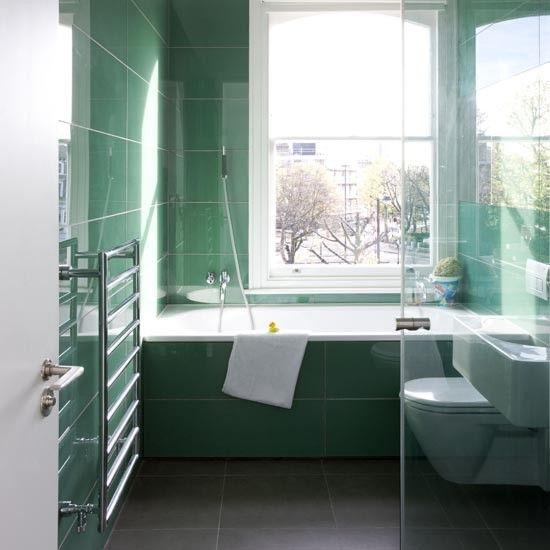 Jade grünen Badezimmer Wohnideen Badezimmer Living Ideas Bathroom ...