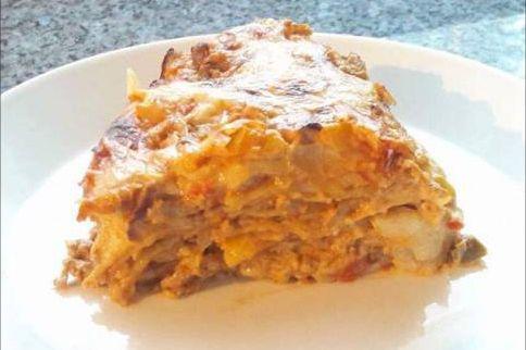Jauheliha-tortillavuoka