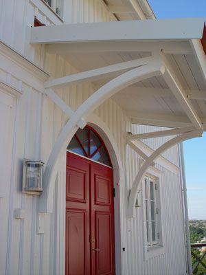 tak över ytterdörr