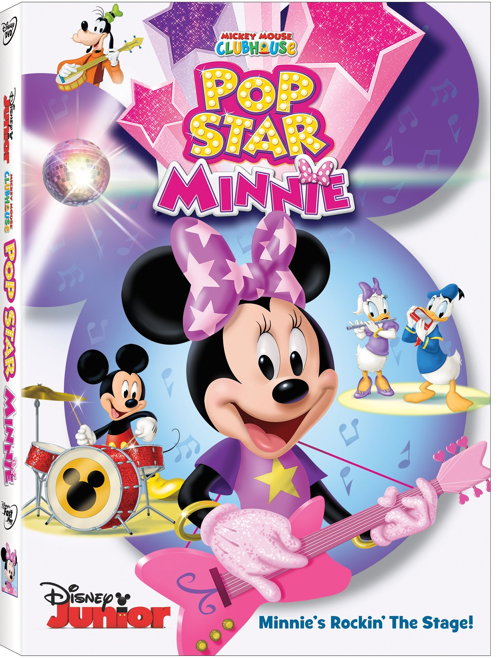 Minnie Mouse Rocks The Stage In Mickey Clubhouse Pop Star Heading To DVD 2