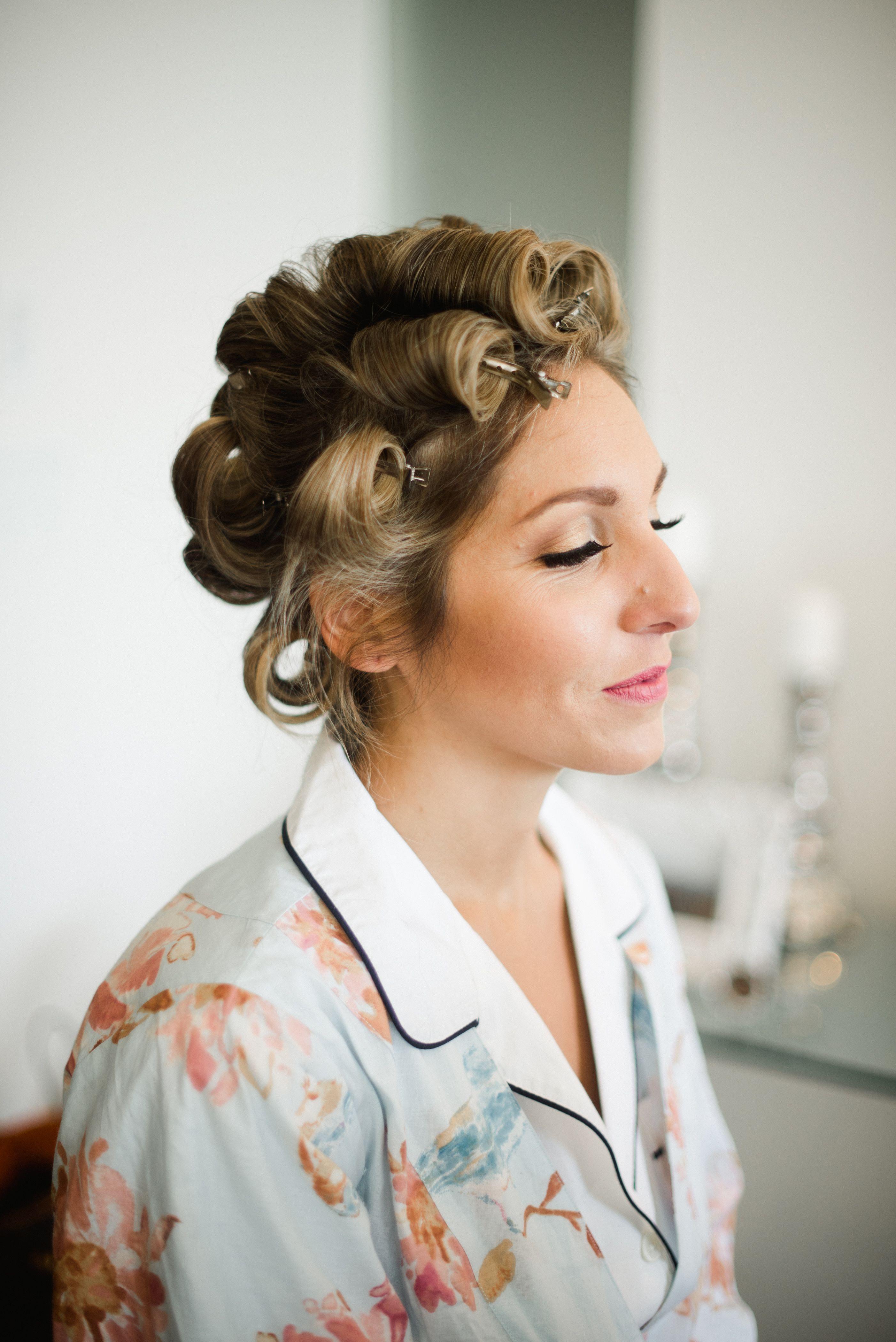 bridal hair and makeup prep. hair and makeup: nadia albano