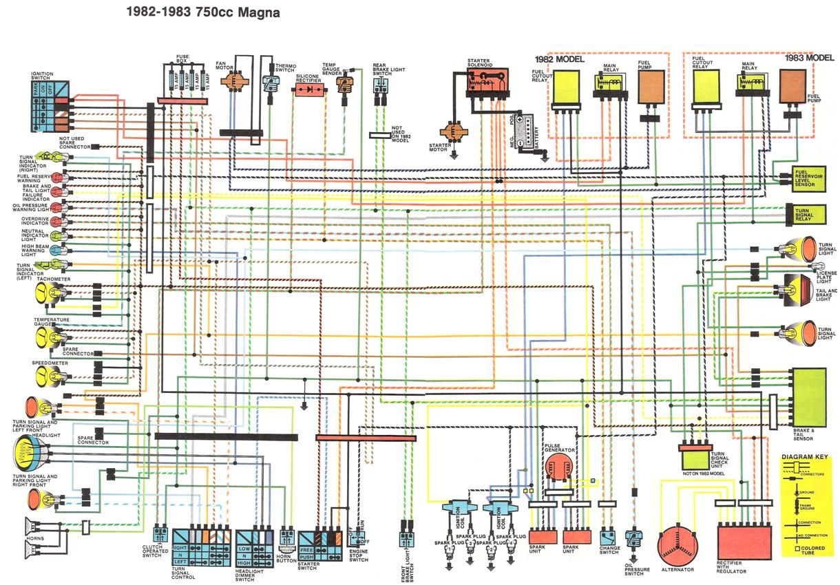 pin by lawrence william woodward on motorcycle pinterest 82 honda v45 sabre 82 honda magna wiring diagram [ 1220 x 850 Pixel ]