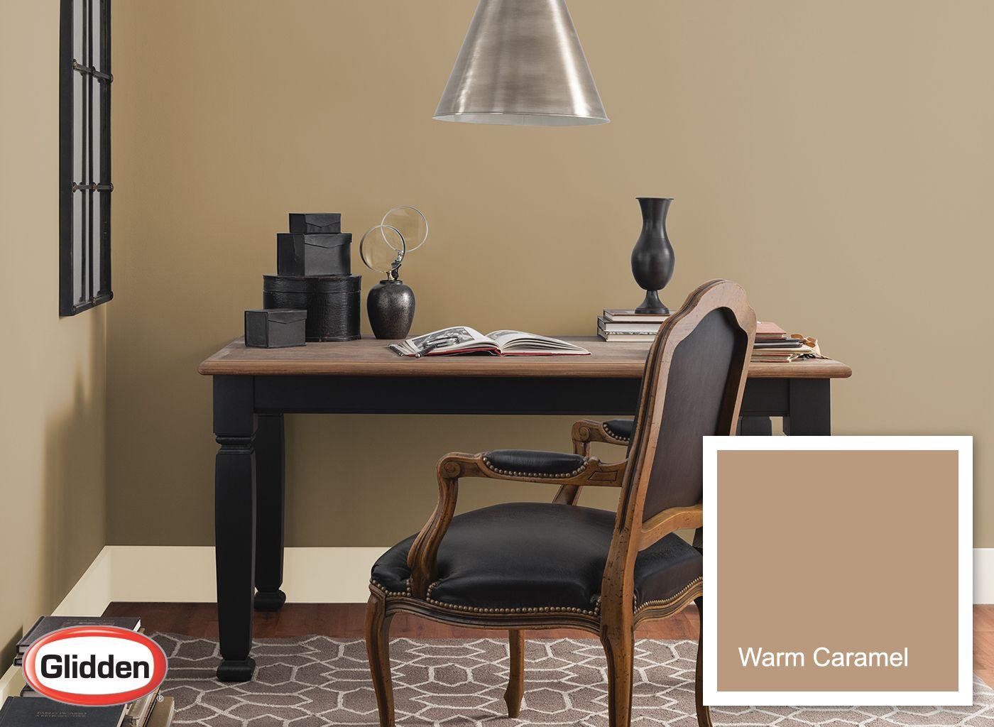 Warm Caramel Large Jpg 1400 1024 Bedroom Interior House Interior Warm Interior #warm #living #room #wall #colors