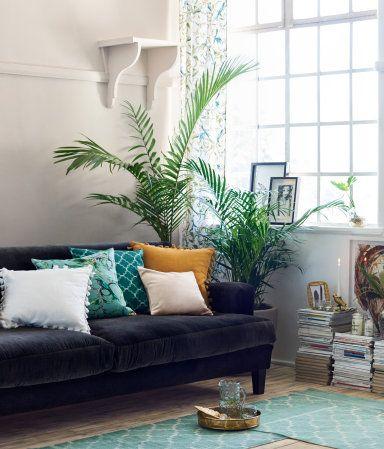 Kissenhülle mit Druck | Grün | Home | H&M DE