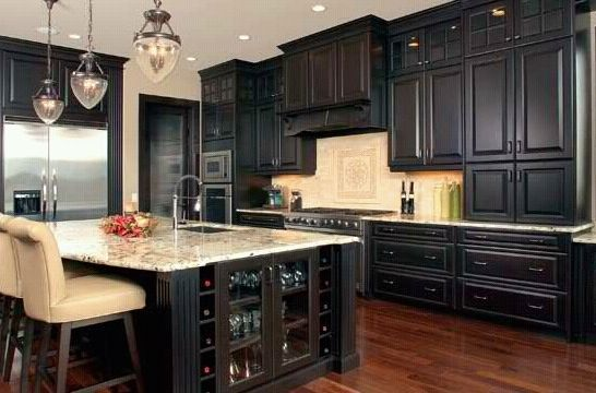 17 Best images about Kitchens on Pinterest | Cabinets, Islands and Espresso  cabinets