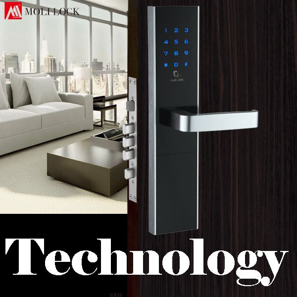 Combination Smart Door Lock Touch Screen Password Lock Electric