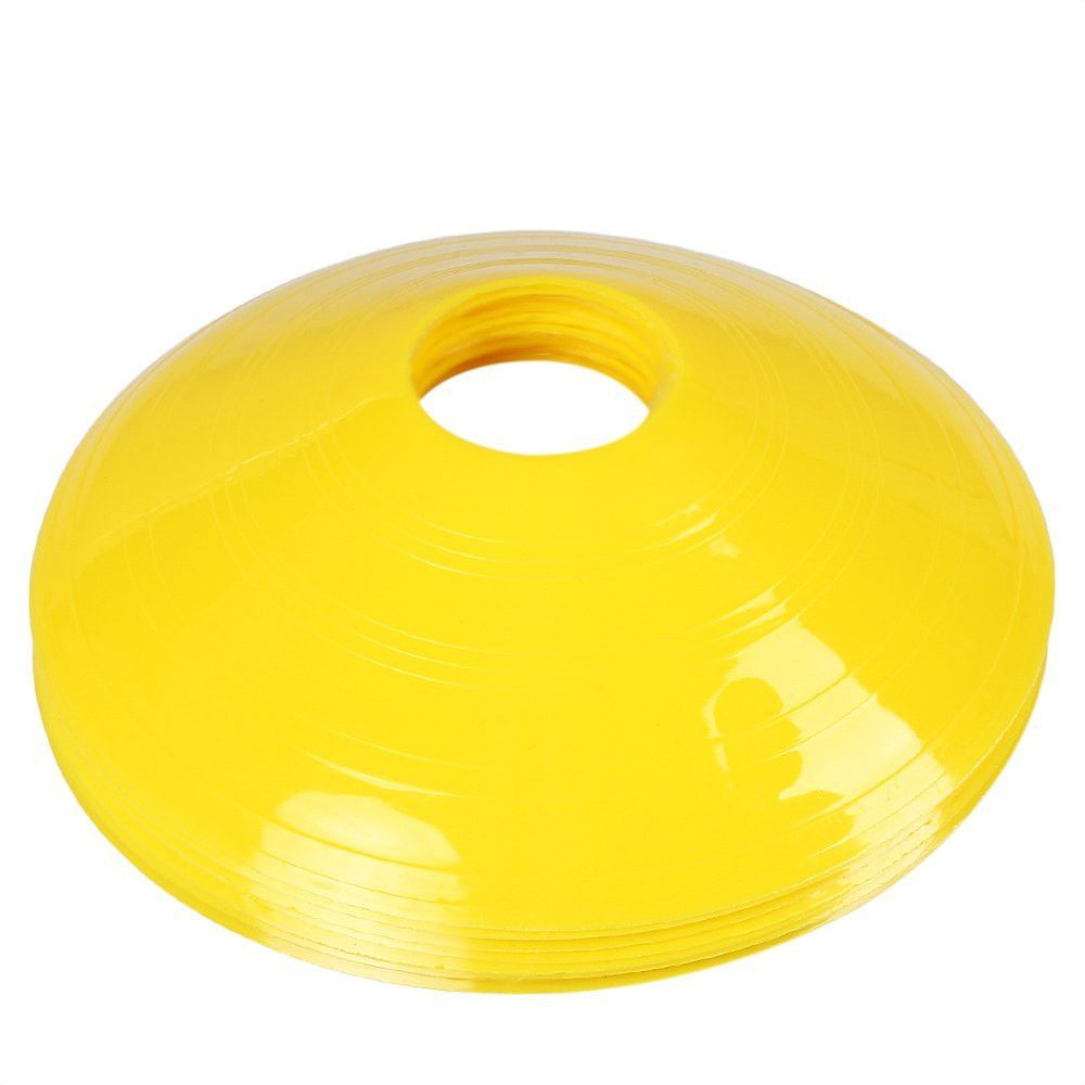 5 Color 12pcs Lot Agility Disc Cones Outdoor Soccer Football Training Cone Durable Ultralight